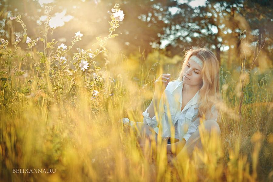 Фотосессии на природе Воронеж, Белых Анна