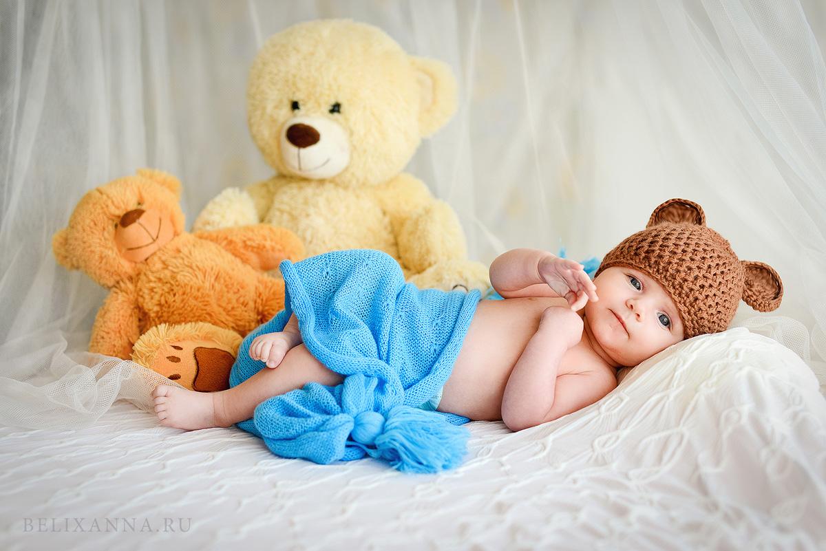 Фотосессия новорожденных своими руками фото 869
